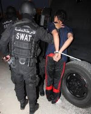 القبض على مطلوب خطير في جرش بحقه 45 قضية جرمية