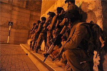بالاسماء  ..  الاحتلال يعتقل 22 مواطنا في الضفة