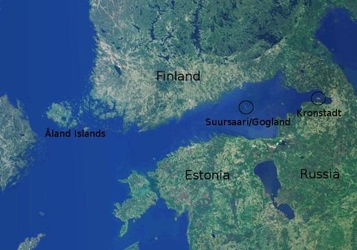 العثور على سفينة بقاع الخليج الفنلندي - صورة