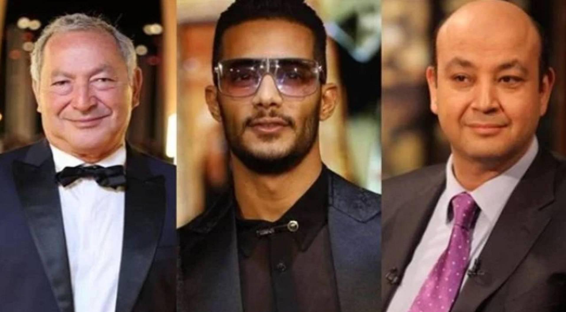 """بالفيديو  ..  سميح ساويرس يدخل على خط الخلاف بين عمرو أديب ومحمد رمضان: """"لم يُفرض علينا"""""""