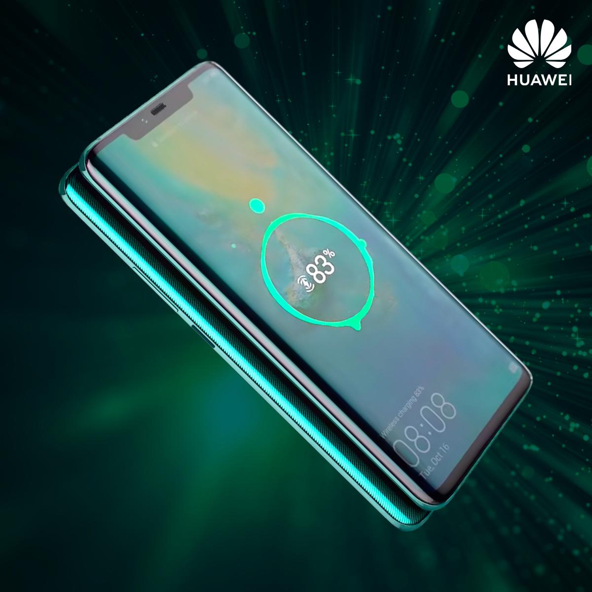 """عصر جديد من التقنية  """"خاصية الشحن العكسي اللاسلكي من Huawei Mate 20 Pro"""""""