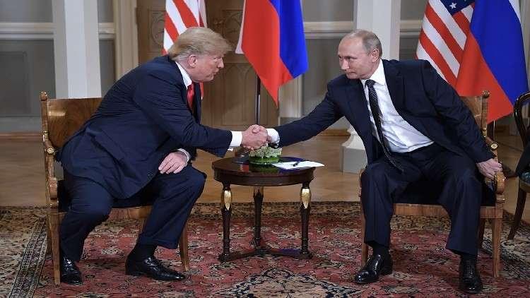 ترامب يهنئ بوتين على التنظيم الرائع لكأس العالم 2018
