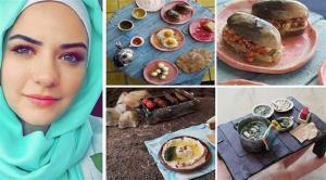 صور: عشرينية أردنية تنحت طعاماً ثلاثي الأبعاد