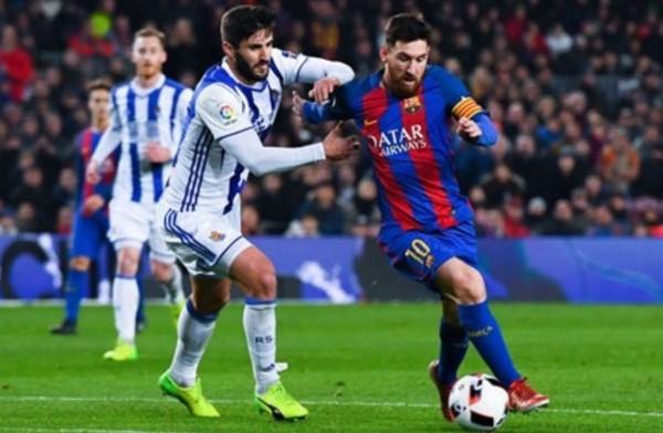 برشلونة يقلب تأخره أمام سوسييداد إلى فوز