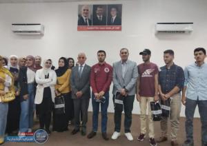 بالصور  ..  العين محمد الملكاوي يكرّم طلبة متفوقين وتربويين في بلدة ملكا