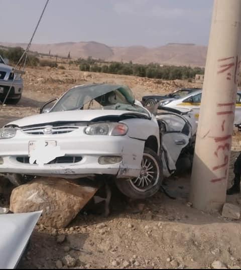 بالصور  .. وفاة و5 إصابات بحادثي سير في جرش والكرك
