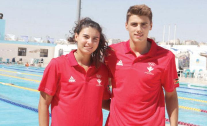 """السباحان بقلة يشاركان في أولمبياد """"ريو 2016"""""""