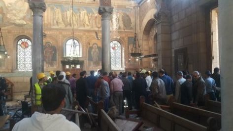 مصدر امني: انتحاري كنيسة القاهرة ينتمي لـ''داعش'' ..  وهذه تفاصيل العملية