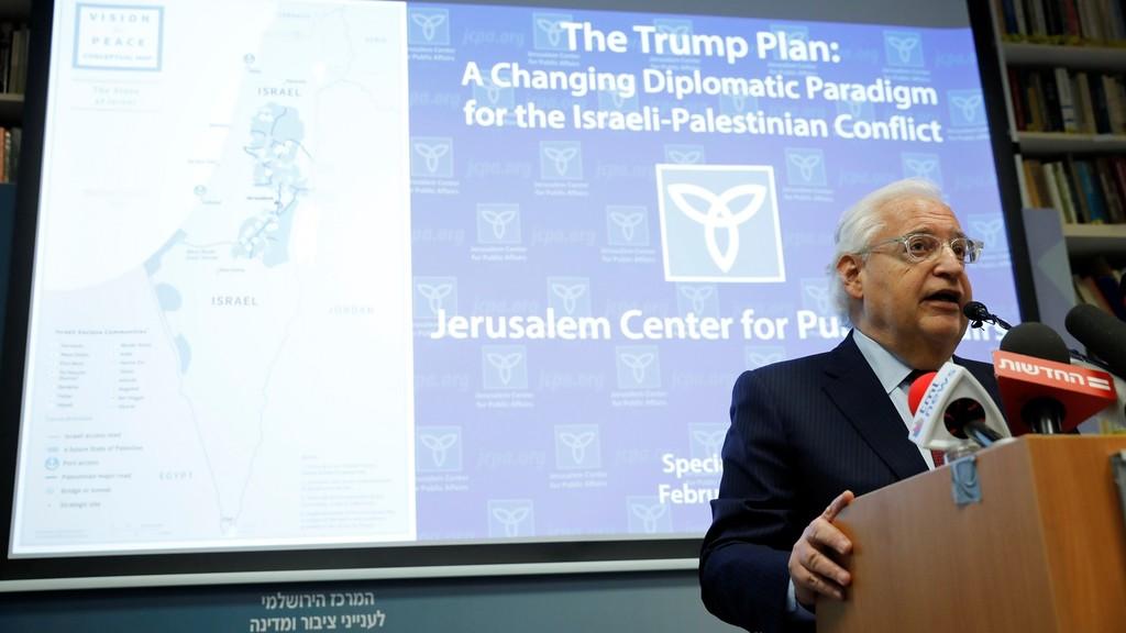 فريدمان يحذر الكيان الصهيوني من خطوات أحادية لضم أراض