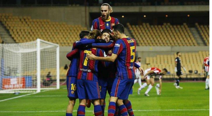 برشلونة ينجو من فخ كورنيا في الوقت الإضافي