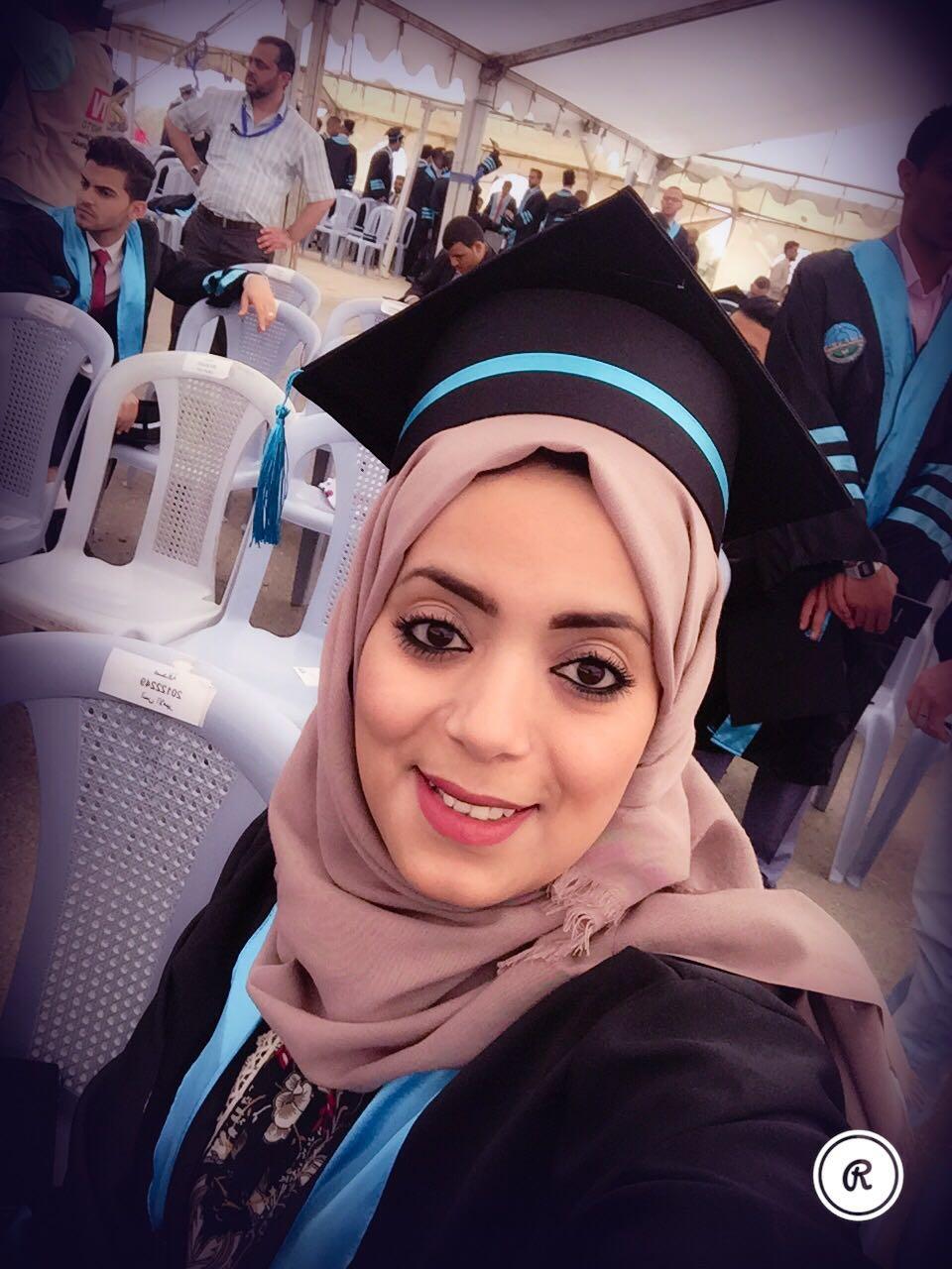 الصحفية حنين البيطار  .. مبارك التخرج