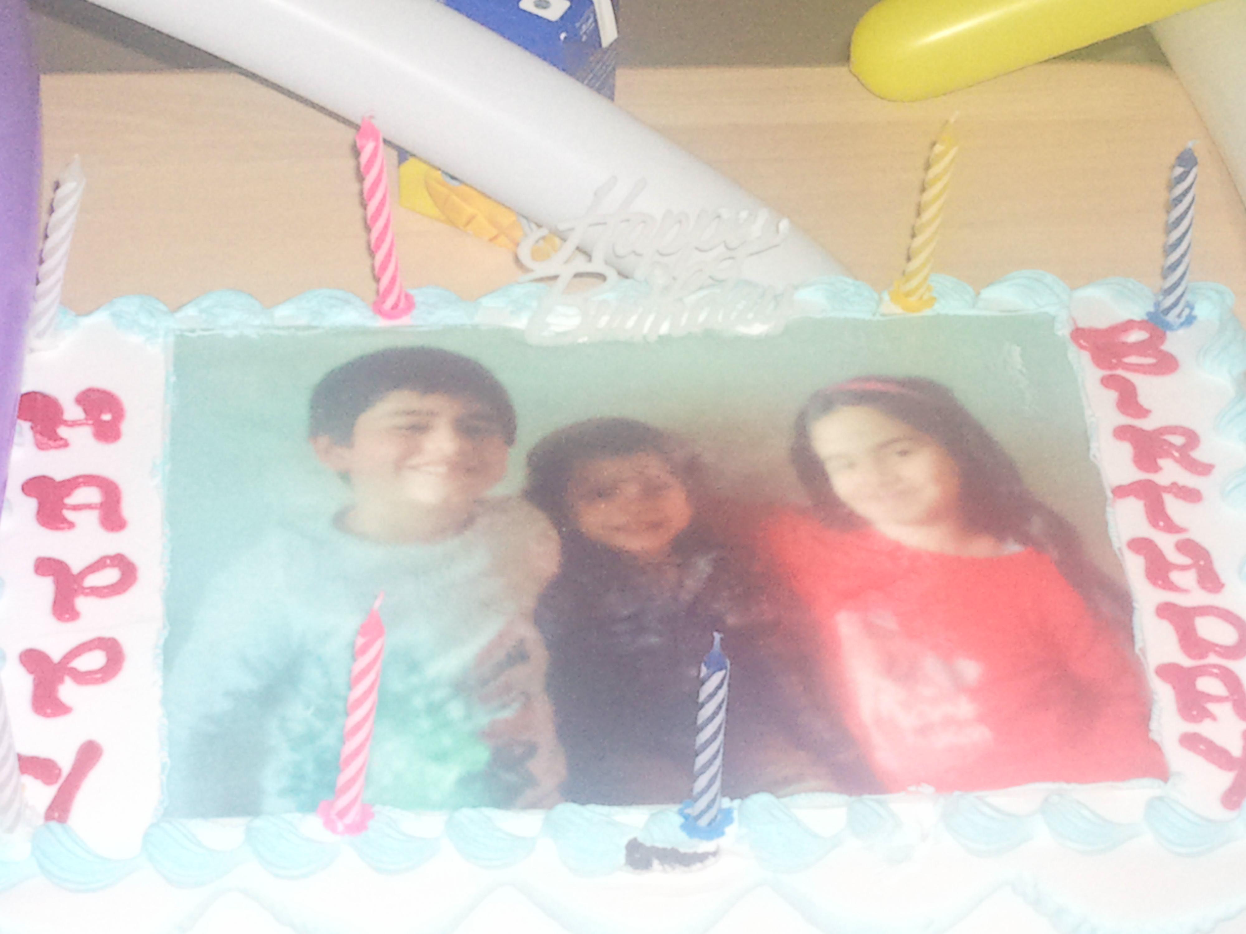 تهنئة الى احمد وتمارا بمناسبة عيد ميلادهم الثامن