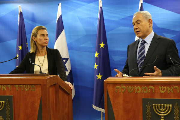 موغريني لنتنياهو: الاتحاد الأوروبي سيدعم الملك عبدالله الثاني بشأن القدس