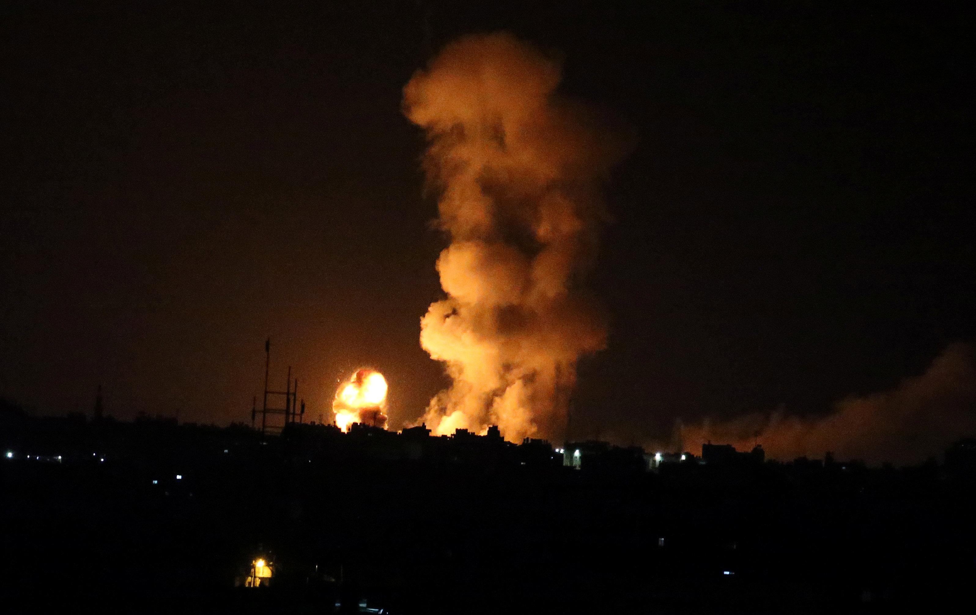 استشهاد مواطن فلسطيني واصابة (14) اخرين برصاص الاحتلال بغزة