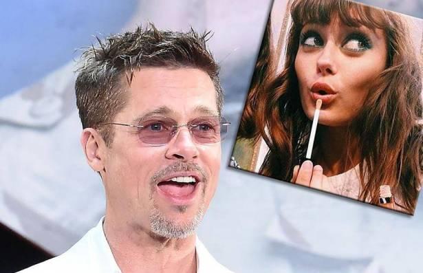 مفاجأة: حبيبة براد بيت الجديدة تصغره بـ 32 عامًا ..  وأنجلينا غاضبة!