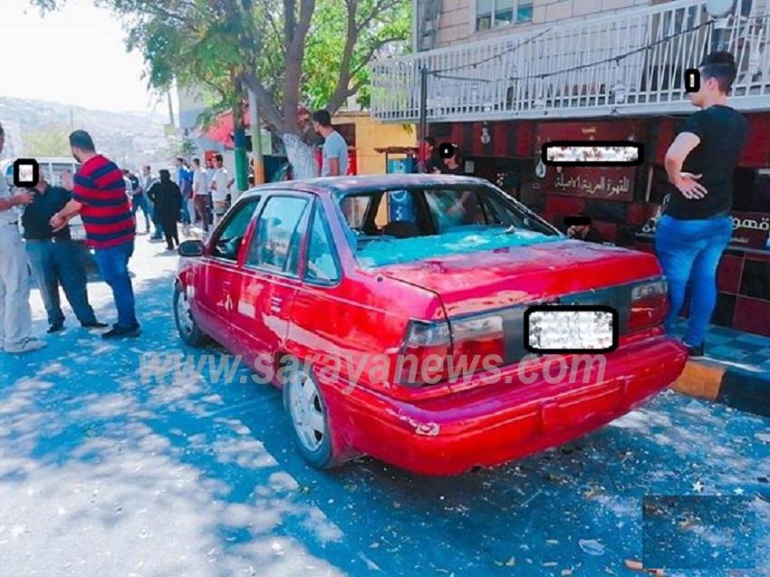 عمان : مشاجرة جماعية بين طلاب وتحطيم زجاج 4 سيارات والامن يلقي القبض على اطراف المشاجرة