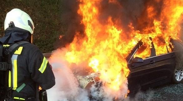 كيف تتصرف عند نشوب حريق بالسيارة؟