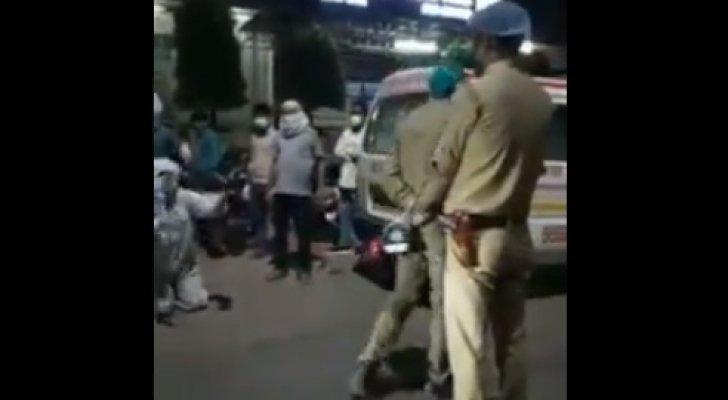 """بالفيديو ..  الشرطة تسحب الأكسجين عن مريضة لحساب """"شخصية هامة"""" في الهند"""