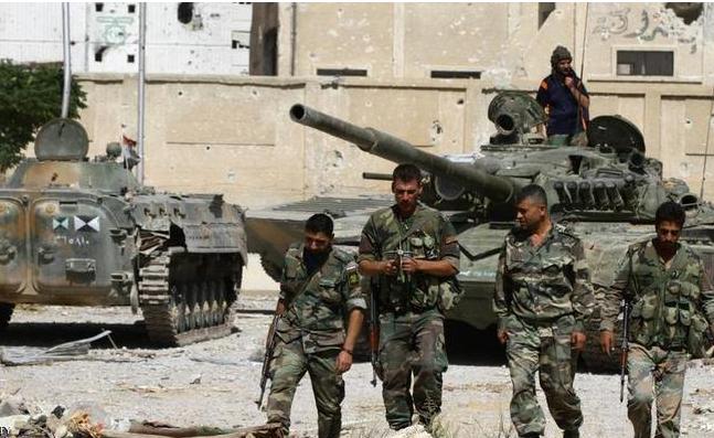 الجيش السوري يستعيد السيطرة على مساكن هنانو في حلب