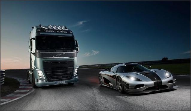 بالصور .. نصائح في تعلم طرق القيادة الآمنة بجوار الشاحنات