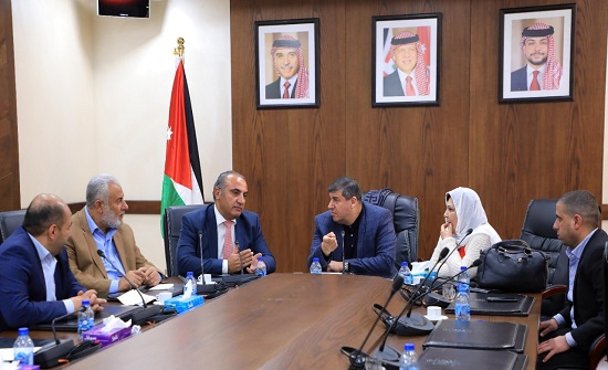 """""""فلسطين النيابية"""" تلتقي أمين عمان ومدير مركز العودة الفلسطيني"""