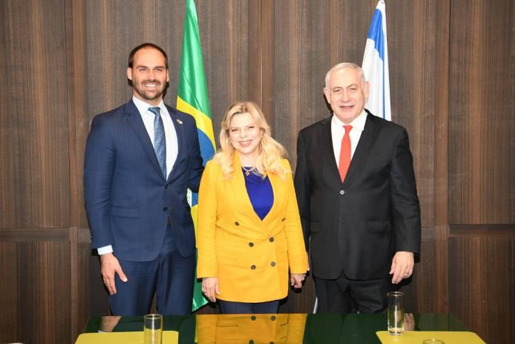 نجل الرئيس البرازيلي: سننقل سفارتنا للقدس