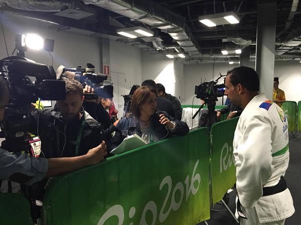 الأردني إبراهيم خلف يودع منافسات الجودو في ريو