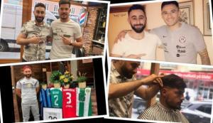 شاب سوري يصبح حلاقا لأبرز نجوم كرة القدم في العالم