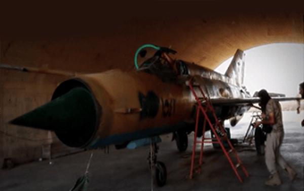 داعش تمتلك 3 طائرات حربية