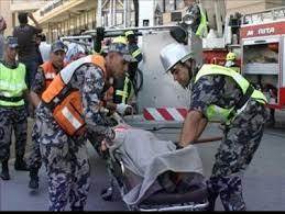 مادبا: وفاة وإصابتان بحادث تدهور في أم الرصاص