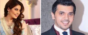 """""""الليلة قلبي صار بأمرك""""... زواج الإعلامي السعودي حمود الفايز والإعلامية رؤى الصبان (فيديو وصور)"""