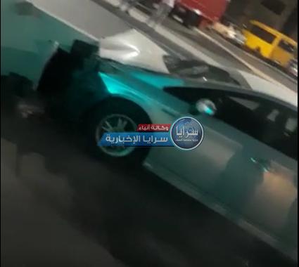 """بالفيديو  ..  تقصير الأمانة يتسبب بحادث سير  ..  و مواطن : """"حسبي الله عليكي يا أمانة عمان"""""""