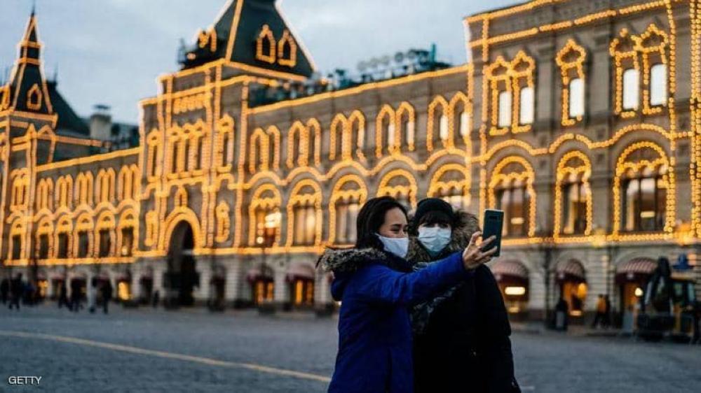 روسيا: 188 وفاة و 6852 إصابة جديدة بكورونا