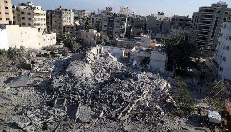 ارتفاع عدد ضحايا القصف الإسرائيلي على غزة إلى ٧ شهداء