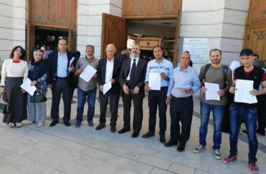 130 إنذارا عدليا للحكومة بسبب اتفاقية الغاز
