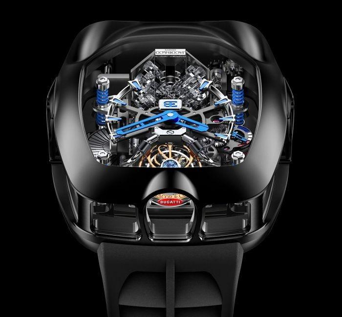 بوجاتي تكشف عن ساعة يد مستوحاة من محرك شيرون بسعر 2.09 مليون ريال!