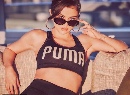 سيلينا غوميز الوجه الجديد لعلامة بوما الرياضية