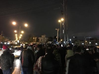 لليوم الـ8 على التوالي  ..  استمرار الاعتصام المفتوح امام السفارة الأميركية