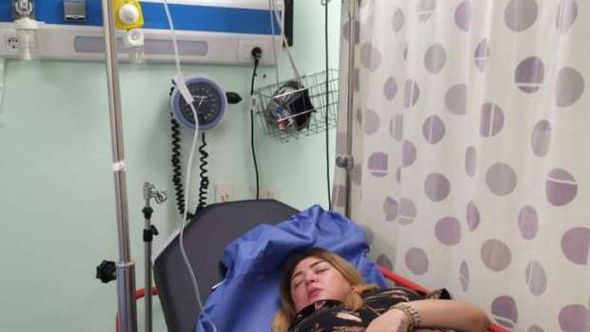 نقل الفنانة المصرية مها أحمد إلى المستشفى