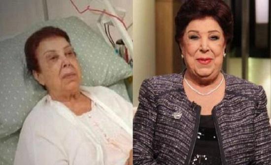 فنانة مشهورة تكشف عن حالتها الصحية بعد مخالطتها رجاء الجداوي