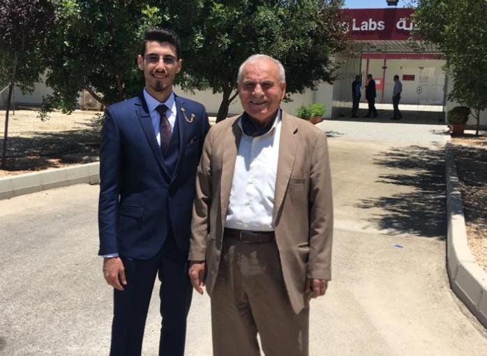 المهندس حسن غنام  ..  ألف مبارك التخرج