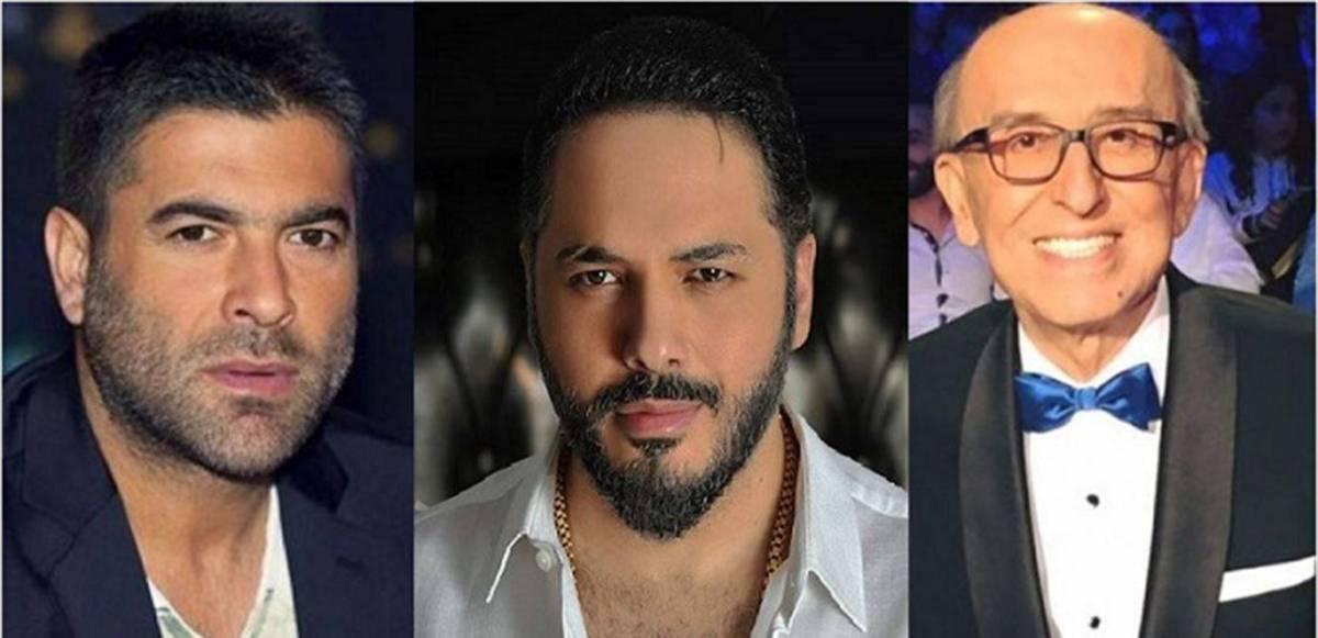 رغم خلافهما معه ..  رامي عيّاش ووائل كفوري ينعيان سيمون أسمر!