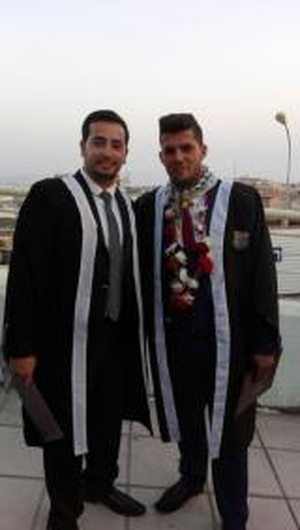 مبارك التخرج م محمد اسماعيل وأحمد غيث