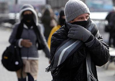 الثلاثاء  ..  طقس بارد ورياح شرقية نشطة