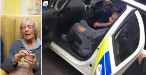 """الشرطة تعتقل امرأة عمرها 104 أعوام لسبب """"غريب جدا"""""""