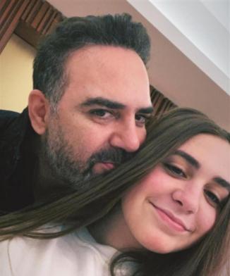 شاهد  ..   وائل جسار برفقة ابنته
