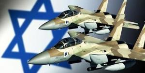غارة لسلاح الجو الصهيوني على سورية ردا على إطلاق قذائف