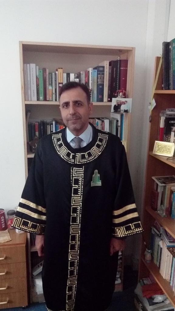 الدكتور احمد ابوبكر مبارك الترقية