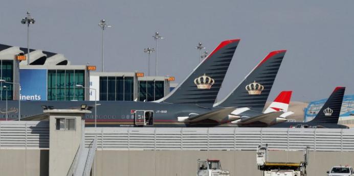 """مستو : خسائر بالملايين وتضرر آلاف الوظائف لقطاع الطيران في الأردن بسبب """"كورونا"""""""