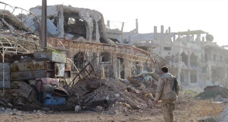 جيش النظام يسيطر على كامل الحدود السورية مع الأردن